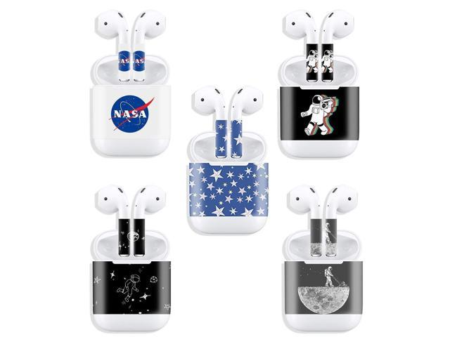 Ekind 5 Pcs Stylish Sticker Compatible For Apple Airpods Earbud Charging Box Personalized Your Airpods Set 3 Newegg Com