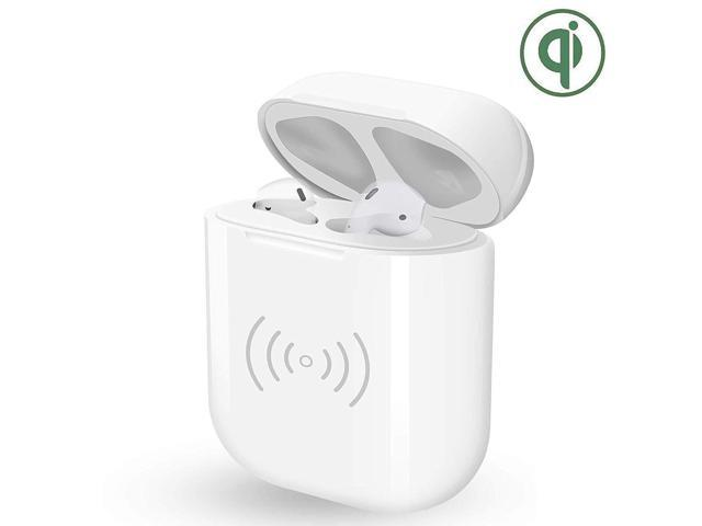 huge discount a40c9 1b389 POWVAN Wireless Charging Case Replacement of Air pods Charger Case, Fast  Charging Built-in Batteries Supply 24 Hours Power Compatible with AirPods,  NO ...