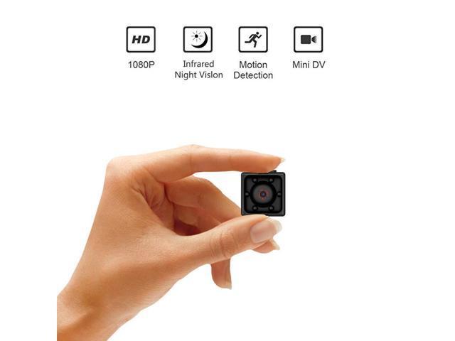 1080P HD Mini Hidden SPY Camera Motion Detection Video Recorder Cam Night Vision