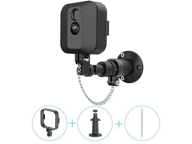 Linkstyle Wall Mount Bracket for Blink XT Camera, 360 Degree Adjustable  Indoor Outdoor Wall Mount with Protective Housing Cover & Theft Security  Chain