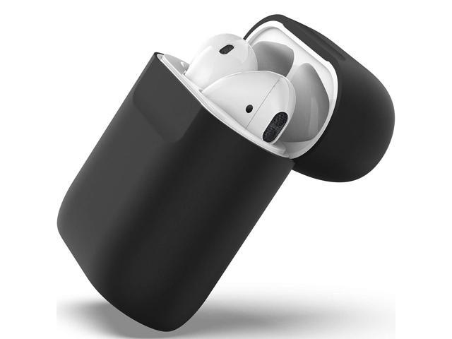 Marevo Flat Design Cover Skin - Premium Accessories for Apple AirPods  Charging Case (Black) - Newegg com