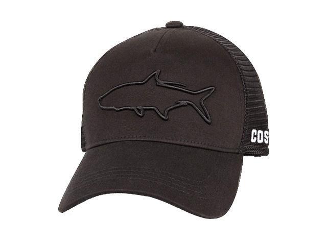 Costa Del Mar Stealth Tarpon Trucker Hat-Black