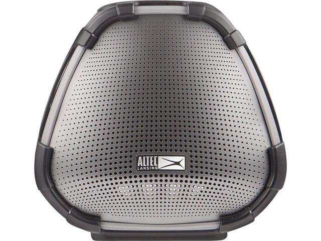 Altec Lansing - VersA Smart Portable Bluetooth Speaker with Alexa -  Black/silver