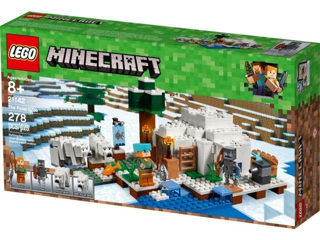The Polar Igloo 21142 278 Pcs LEGO® Minecraft™