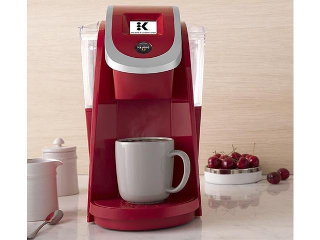 Keurig K200 Single Serve K Cup Pod Coffee Maker Imperial Red
