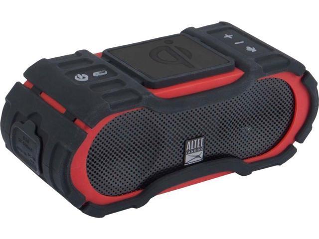 BoomJacket Jolt Portable Bluetooth Speaker Altec Lansing Torch Red