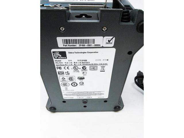 Genuine Zebra ZP450 Thermal Label Printer 0501-0000A - Newegg com