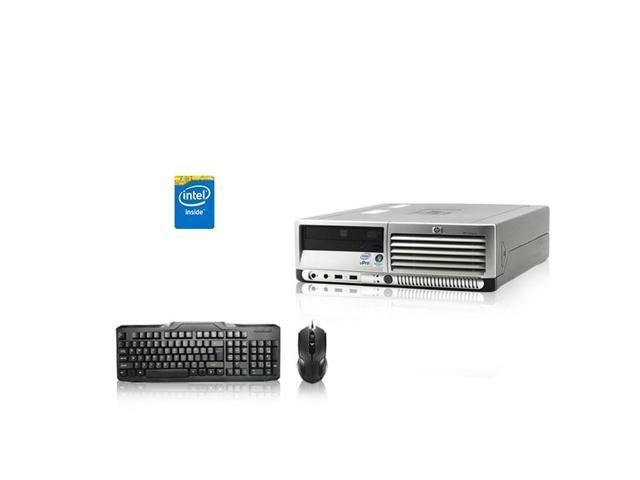 HP DC Desktop Computer 2 4 GHz Core 2 Duo Tower PC, 8GB, 250GB HDD, Windows  7 x64, USB Mouse & Keyboard - Newegg com