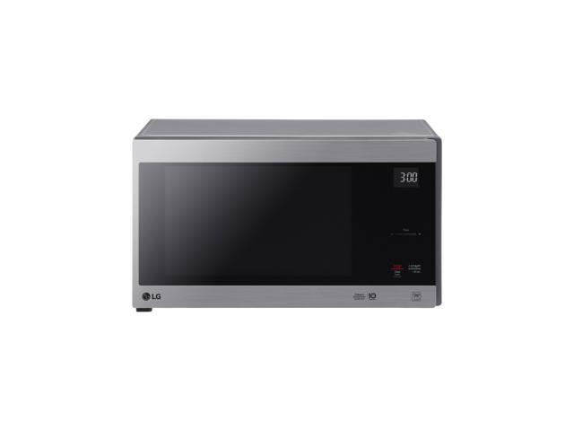 lg lmc1575st 1 5 cu ft neochef countertop microwave with smart inverter and easyclean stainless steel