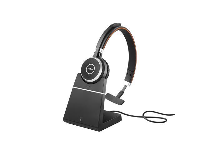 Jabra Evolve 65 Uc Mono Wireless Headset Music Headphones Newegg Com