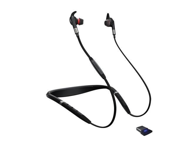 Jabra Evolve 75e Microsoft Skype Wireless Bluetooth Earbuds Newegg Com