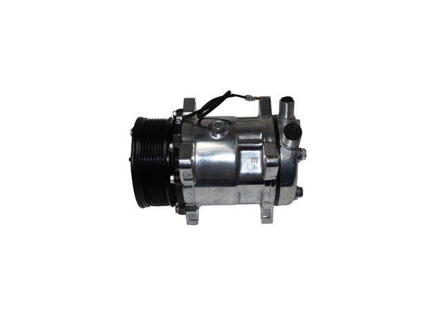 Sanden Style Compressor Sd-508 W/7 Groove Serpentine Belt Pulley Sd5H14 -  Newegg com