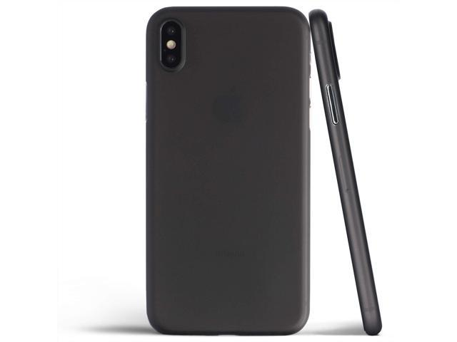 finest selection 6fc8a f0fa0 Thin iPhone Xs Max Case, Thinnest Cover Ultra Slim Minimal - for Apple  iPhone Xs Max (2018) - totallee (Frosted Black) - Newegg.ca