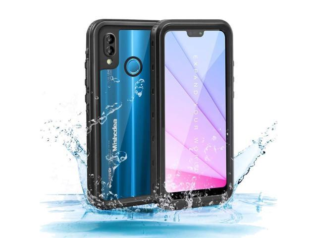 Mishcdea for Huawei P20 Lite Waterproof Case Shockproof Snow-Proof  Dirt-Proof Full Body Phone Protector Cover for Huawei P20 Lite (Huawei Nova  3e),