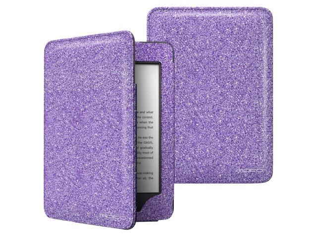 MoKo Case Fits All-New Kindle 10th Generation 2019 Release, Lightweight  Protective Shell Cover with Pocket, Not Fits Kindle Paperwhite - Purple