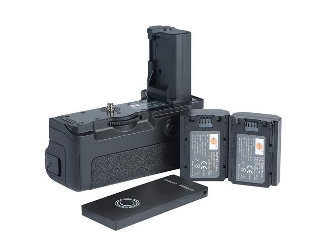 DSTE Pro Wireless Remote Control VG-C3EM Vertical Battery Grip + 2X  NP-FZ100 Battery for Sony A9 A7RIII A7MIII Digital Camera - Newegg ca