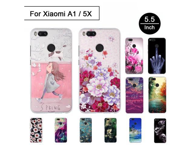 info for 83b92 7dfcd Luxury Silicon Case For Xiaomi Mi 5X A1 Soft TPU Case 3D Relief Painted  Pattern Cover For Xiaomi Mi A1 Phone Cases Cartton Shell - Newegg.com