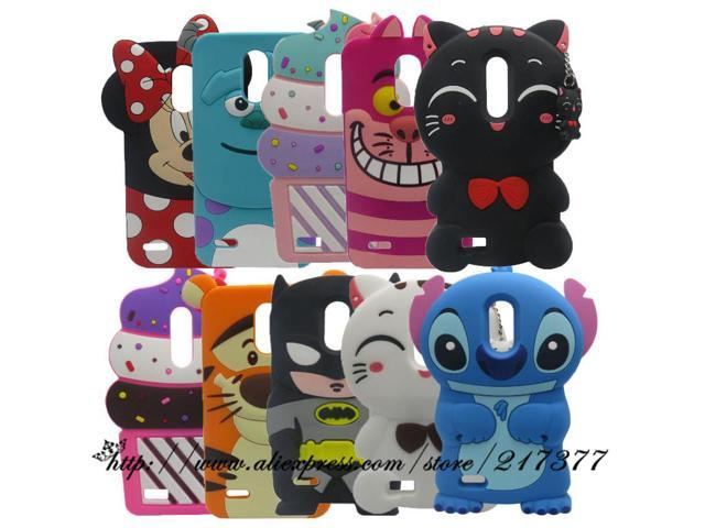 For LG Stylo 3 Cases 3D Silicon Minnie Cupcake Batman Stitch Cartoon Soft  Phone Case Back Cover for LG Stylus 3 / K10 Pro 5 7