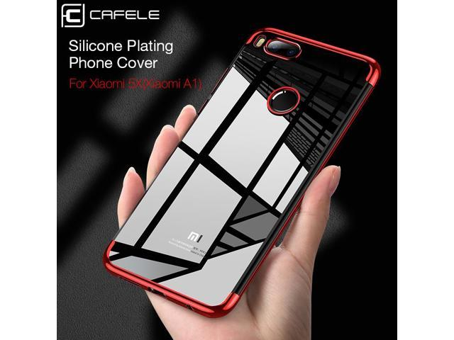 huge selection of 301da b02ce Cafele TPU Case for Xiaomi A1 Mia1 ( Mi 5X ) Soft Plating TPU Crystal Clear  Phone Case for Xiaomi Mi A1 (Mi 5X) Anti Scractch - Newegg.com