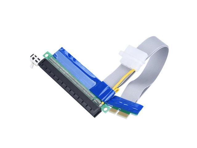 Reliable Do CSV USB PCI-E Express 1x To 16 x Extender Riser Card Adapter  SATA Power Cable 24CM - Newegg com