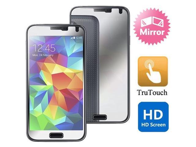 Samsung Galaxy S5 Mirror Screen Protector HD Clear LCD Cover Film -  Newegg com