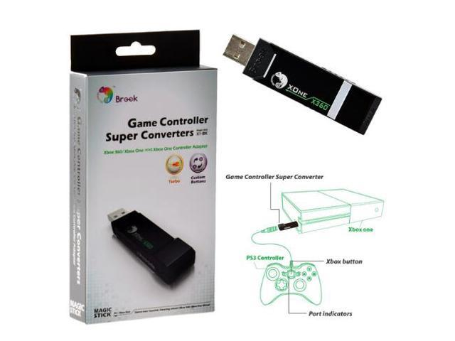 Brook Xbox 360 to Xbox One Console Gaming Converter Controller Adapter  Black - Newegg ca