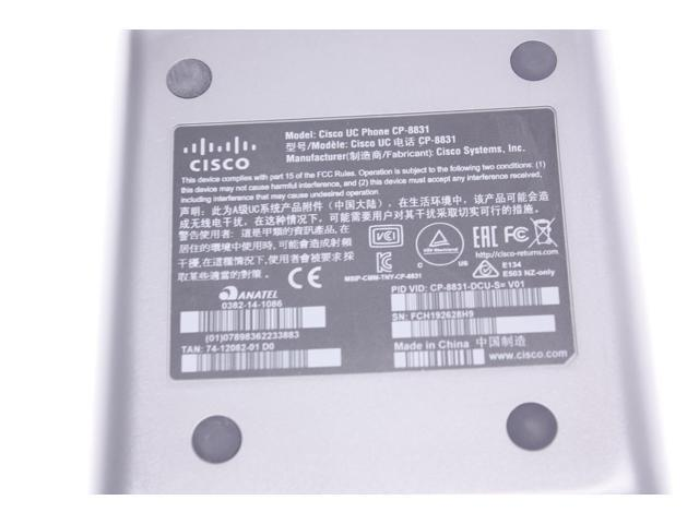 Cisco CP-8831-DCU-S Unified Conference Phone Control Unit Keypad