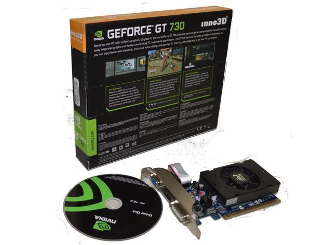Inno3d Nvidia Geforce 2 Gb Ddr3 Vga Dvi Hdmi Pci Express X16 Video Graphics Card Newegg Com