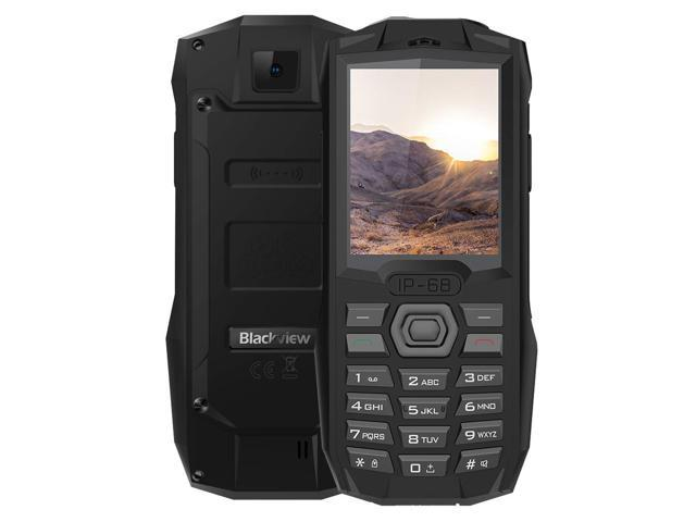 2g Rugged Cellphone Blackview Bv1000 2 4 Inch Phone Ip68 Waterproof Dustproof Shockproof 3000mah Battery Fm Bluetooth Network Dual Sim