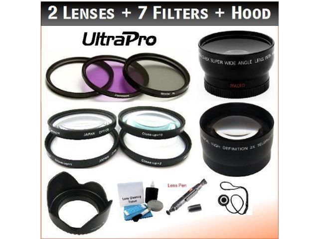 CPL 52MM Xtech Professional 10-PC Lens Filter Kit /& Accessory Bundle Includes UV FLD Cap Cleaning Tools and More ND2 Cases 4 Close-up Macro Filter Set +1,+2,+4,+10 ND4 Lens Hood ND8