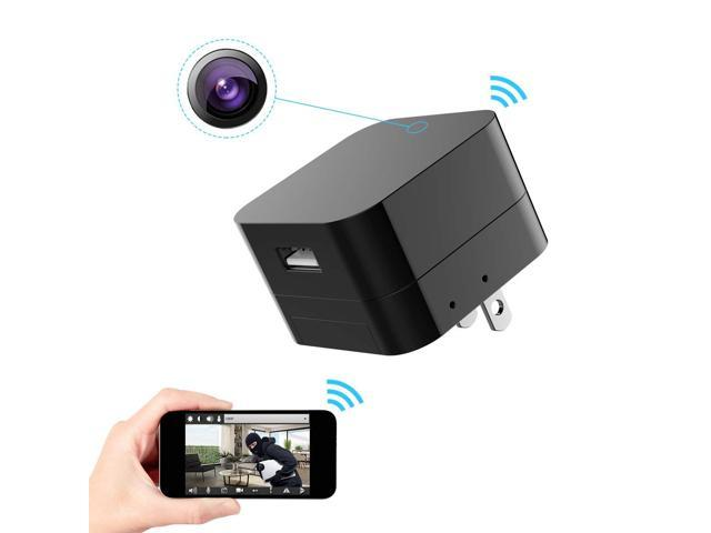 Hidden Spy Camera 1080p Home Security Mini Camera Usb Charger With Wifi Remote View Motion Detection Upgraded Version