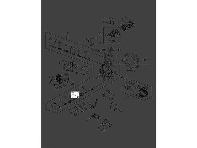 Polaris 2007-2018 Sportsman 90 Outlaw 90 Seal Valve Engine 0453426 -  Newegg com
