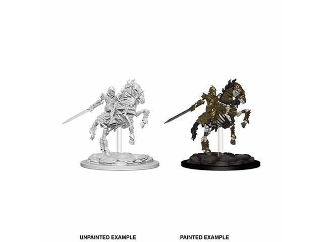 Skeleton Knight on Horse Miniatures Pathfinder Battles Deep Cuts Unpainted  WizKids - Newegg com