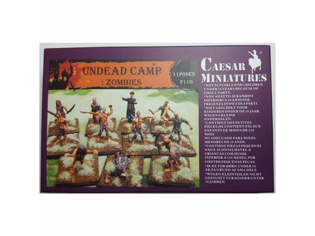 Undead Camp Zombies 1/72 Scale Miniatures Pegasus Hobbies - Newegg com
