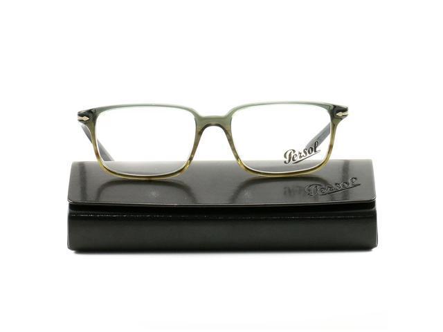 c990504ed9c8 Persol Eyeglasses PO3013V 1012 Gray 53 17 140 Acetate Demo Lens