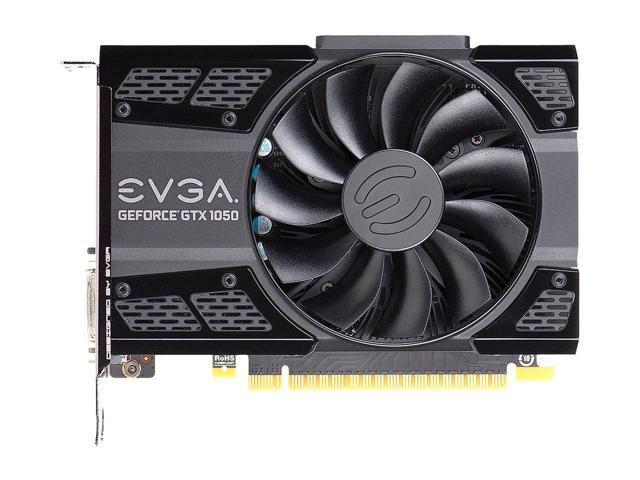4GB GDDR5 EVGA GeForce GTX 1050 Ti SC GAMING PXOC DX12 OSD Support