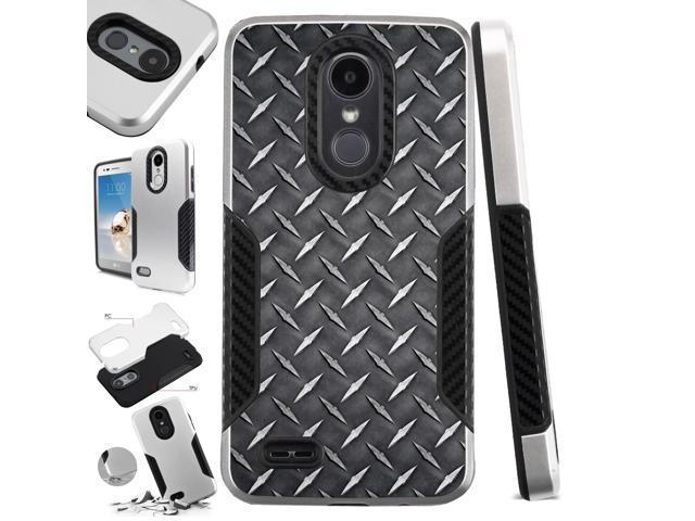 For LG Stylo 4 | LG Q Stylus | LG Q Stylus Plus | LG Q Stylus Alpha Case  Hybrid TPU Carbon Slim Guard Phone Cover - Newegg com