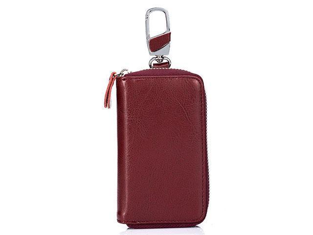 fafe9ee672ac AutofeelSunriseoffice Men Car Key Leather Wallet Zipper Card Holder Purse  Male Wallet Short Fashion Coin Key Purse Wallets Women Mini Waist Case Bags  ...