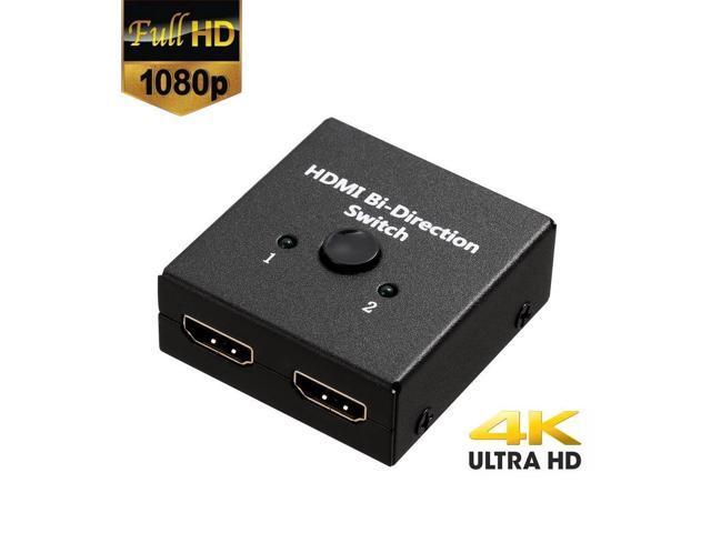 2x1 1x2 Ultra 4K Bi Direction HD Multimedia Interface 2.0 Switch Switcher Hub HDCP 3D 1080p