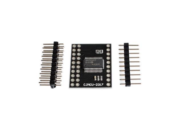 MCP23017 Serial Interface Module IIC I2C SPI MCP23S17 Bidirectional 16-Bit  I/O Expander Pins 10Mhz Serial Interface Module - Newegg com