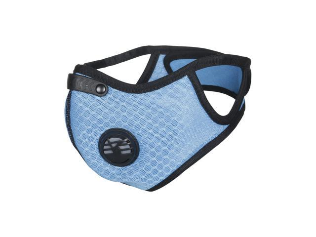Training Climbing Motorcycle Extra With Cycling Filters Hiking N99 Running Mesh Carbon For Fitness Mask