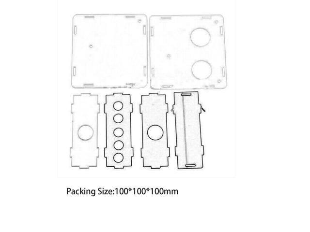 Acrylic Box Shell Case 6J1 Valve Preamp Pre-amp Tube PreAmplifier Board  Headphone Amplifier Buffer Transparent - Newegg ca