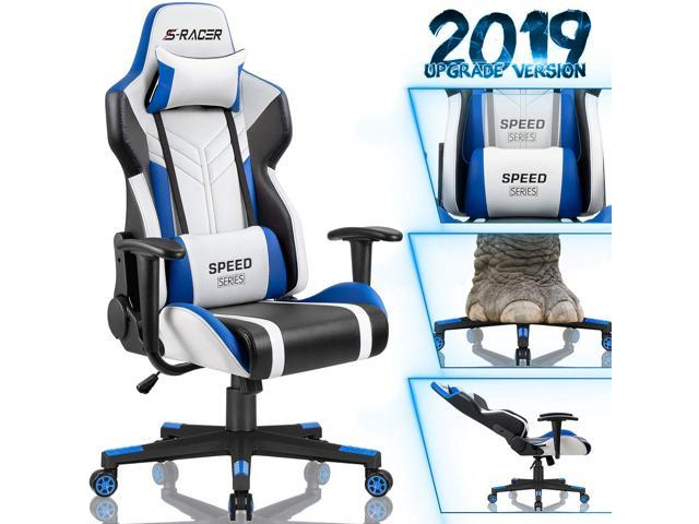Awesome Homall Gaming Chair With Headrest Lumbar Support And Armrest Gmtry Best Dining Table And Chair Ideas Images Gmtryco