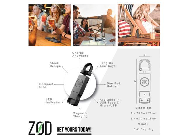 ZOD Smartphone JUUL Charger - Charge your JUUL with your Phone (Type C) -  Newegg com