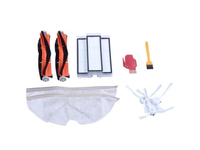Replacement for Xiaomi Mi Robot Roborock s50 s51 Roborock 2 Vacuum Cleaner  2 Accessory Kit Pack of Main Brush,Hepa Filter,Side Brush,Cleaning Tool,Mop