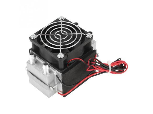 2-Chip 12V 240W Electronic Semiconductor Refrigeration Diy Air Cooling  System Water-Cooled Heat Dissipation - Newegg com