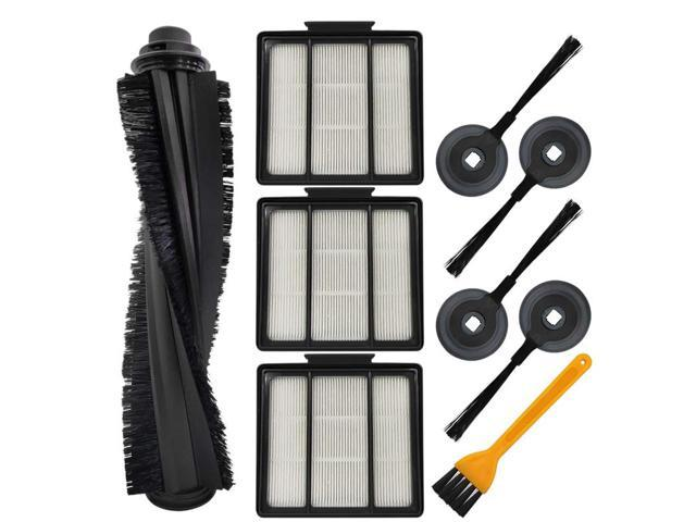 Side Brush Accessory Kit for Shark Ion Robot Rv850 Rv700/_N Rv720/_N Rv750/_N Vacuum Cleaner SODIAL Replacement Parts for Ion Robot R85 S87 Main Brush Filter
