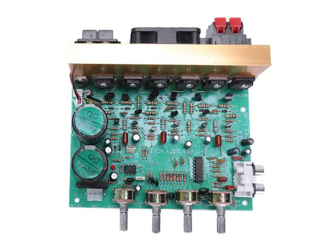 Audio Amplifier Board 2 1 Channel 240W High Power Subwoofer Amplifier Board  Amp Dual Ac18-24V Home Theater - Newegg com