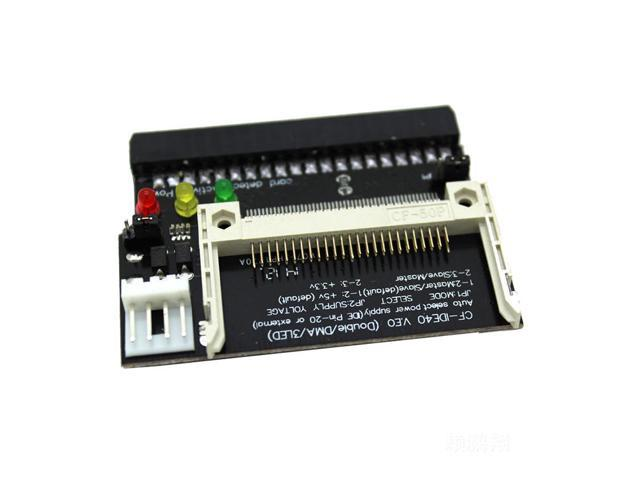 Compact Flash CF to 3.5 Female 40 Pin IDE Bootable Adapter Converter Card