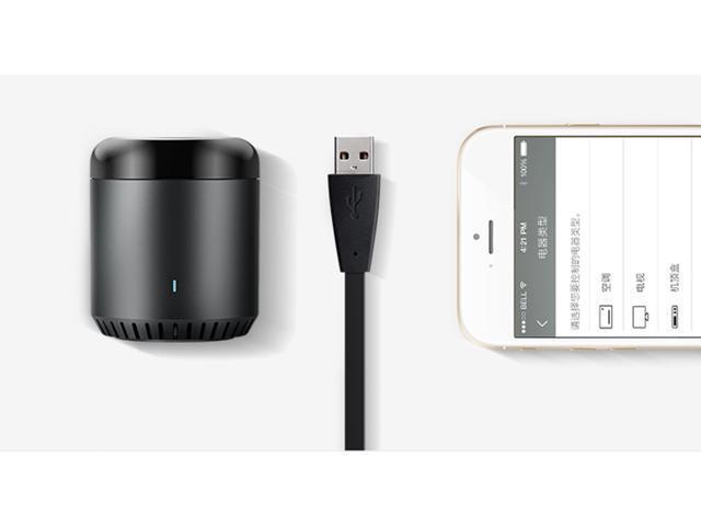 BroadLink RM Mini3 Smart Wi-Fi IR Remote Controller - Black - Newegg com